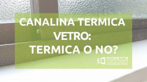 canalina termica
