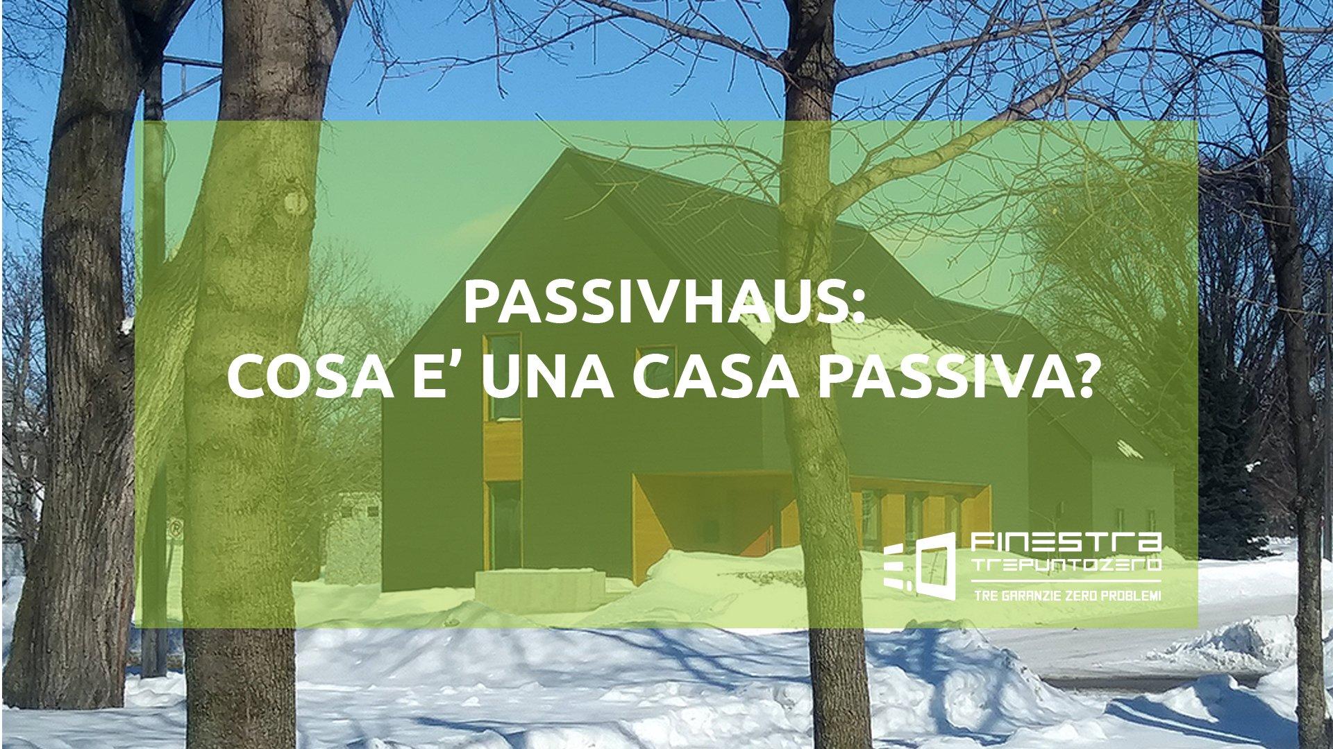Muffa Vicino Agli Infissi passivhaus: cosa e' una casa passiva? - finestra trepuntozero