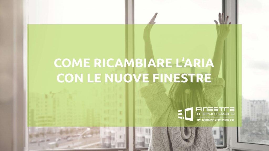 RICAMBIO ARIA FINESTRE POLETTI FORLì
